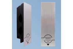 Dispenser hållare för shampoo Senser aluminium