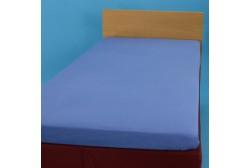 Dra-på-lakan 90*200 cm, blå