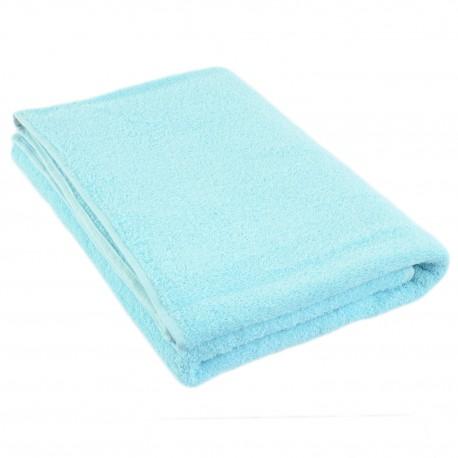 Turquoise terry towel 75*150 cm