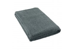 Grey terry towel 75*150 cm