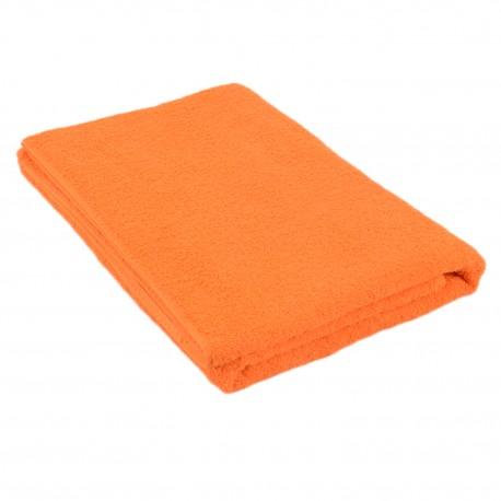 Orange terry towel 75*150 cm