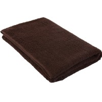 Dark brown towel 75*150 cm