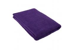 Violett frottéhandduk 75*150 cm