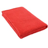 Red terry towel 75*150 cm