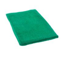 Dark green terry towel 50*70 cm