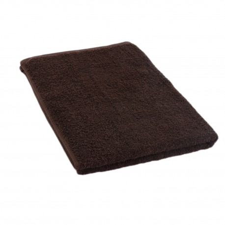 Dark brown towel 50*70 cm