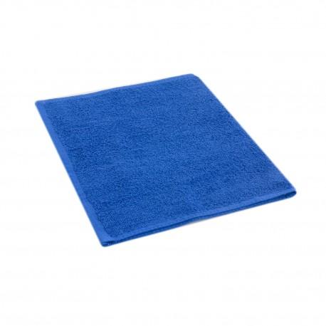 Blue terry towel 30*50 cm