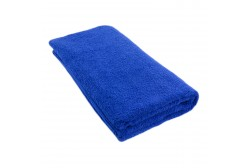 Frottètäcke blå 100*200 cm