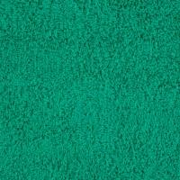 Green terry towel 30*50 cm