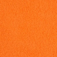Orange terry towel 50*70 cm