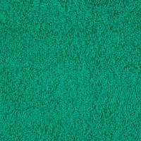 Green terry towel 50*70 cm