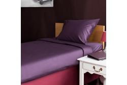 Lakan 180*270 cm Violett 1-pers.