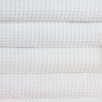 Våffla handduk 70*140 cm vit