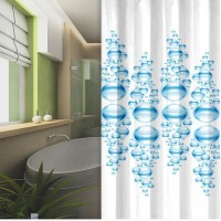 Duschdraperier med olika färger