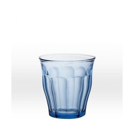 Blå dricksglas 25 cl, härdat glas