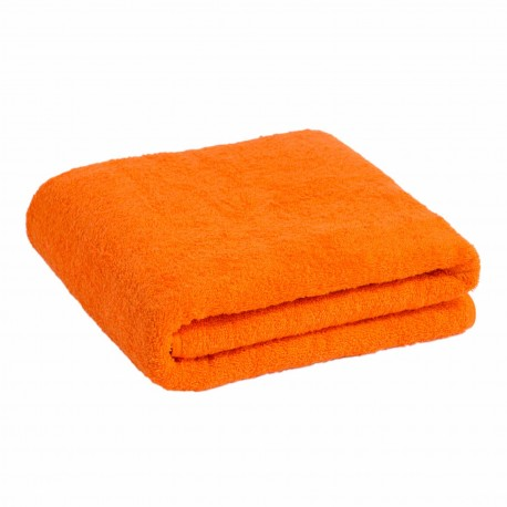 Frottéhandduk orange 90*170 cm