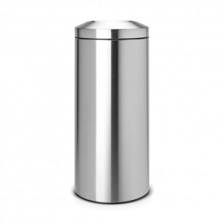 Avfallshål 30 L, matt stål