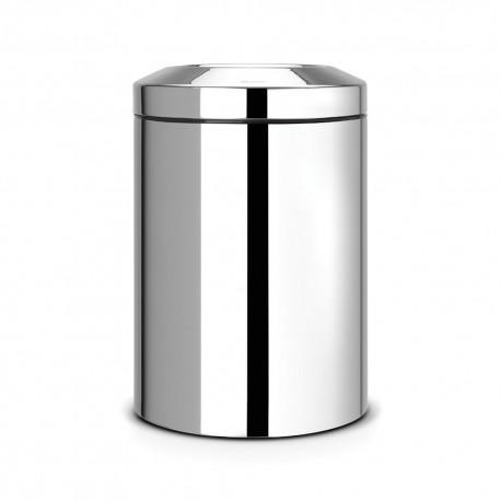 Avfallshål 15 L, matt stål
