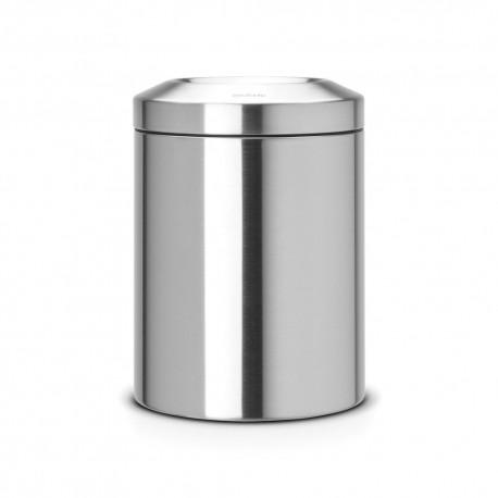 Avfallshål 7 L, matt stål