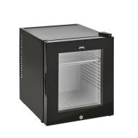 Minibar glasdörr 30 L, svart