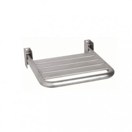 Väggmonterad duschstol, rostfritt stål