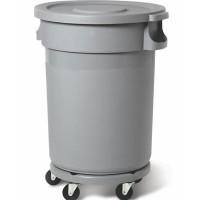 Plastbehållare 168L, grå