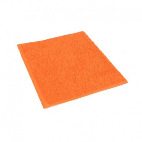 Orange frottéhandduk 30*50 cm
