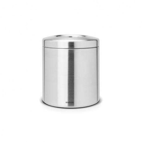 Avfallshål 2,3L, matt stål