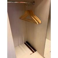Skohorn trä 38 cm, mörkbrun