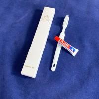 Tandborste/tandkräm Luxen