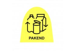 Waste bin sticker