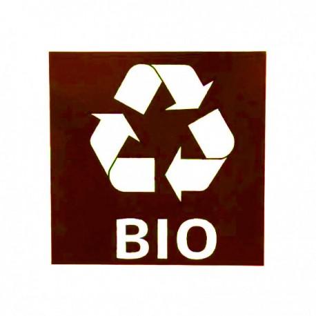 Waste bin sticker Bio