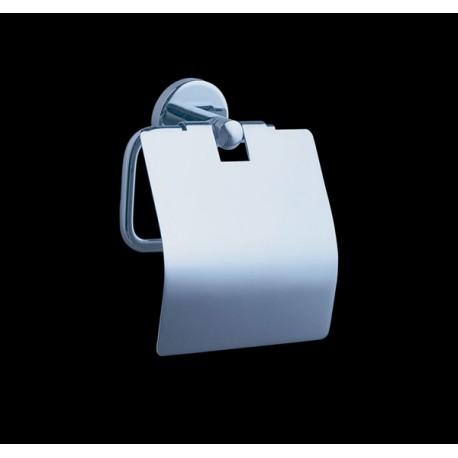 Toalettpappershållare med lock