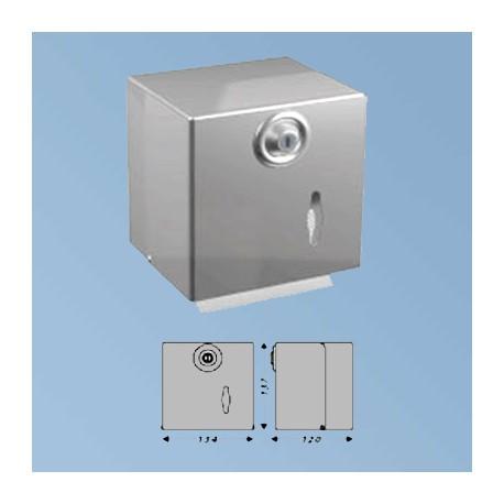 Toalettpapper dispenser, stål matt