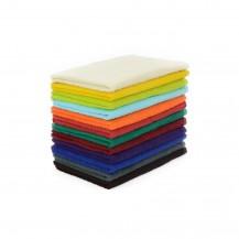 Färgade handdukar 50*70 cm