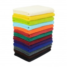 Färgade handdukar 75*150 cm
