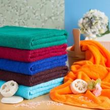 Färgade handdukar 90*170 cm
