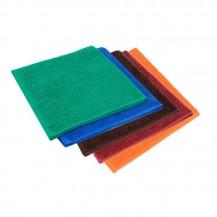 Färgade handdukar 30*50 cm